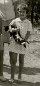 una gattina in braccio?