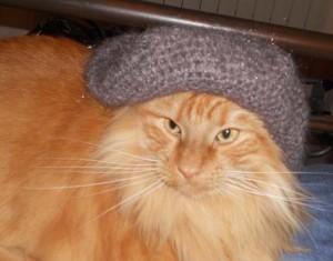 Sono un re anche con il berretto :-)