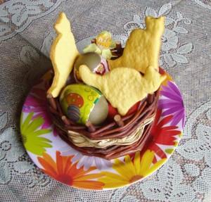 Uova e biscottini